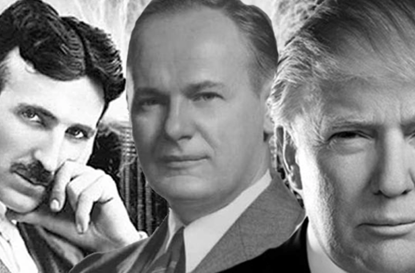 TESLA EXPOSED THE CABAL IN HIS WORK…WHO KNEW? TRUMP KNEW!