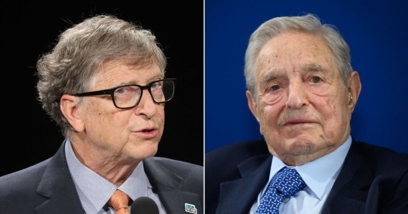George Soros and Bill Gates Just Teamed Up To Buy a COVID Company