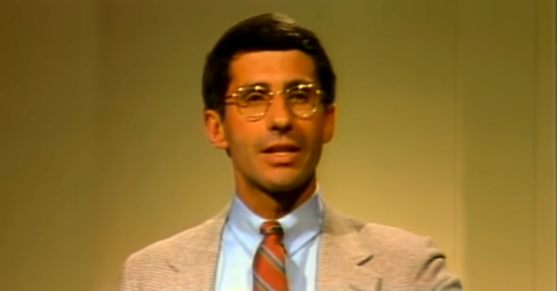 Fauci's History of Fake News: In 1983 He Accused Children of Spreading AIDS