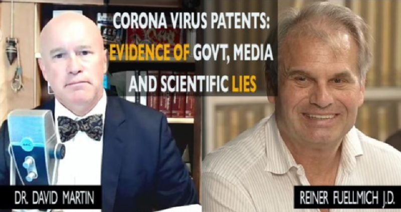Dr. David Martin Reveals Fauci's Trail of COVID Patents' Since 2002